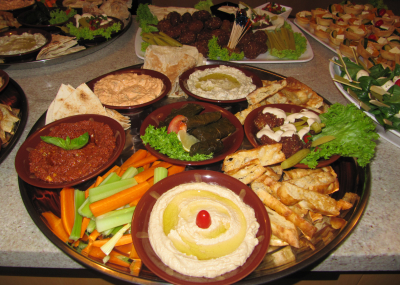 Lower North Shore Middle Eastern Food Catering Services Sydney