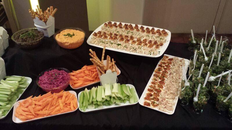 Buffet Catering Menu Mediterranean Cuisine Catering