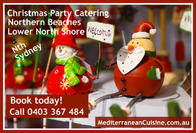 Xmas Private Party Catering Service