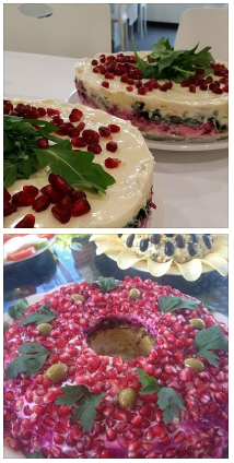 mediterranean sweets : Mediterranean Cuisine Catering menu collage : catering photos